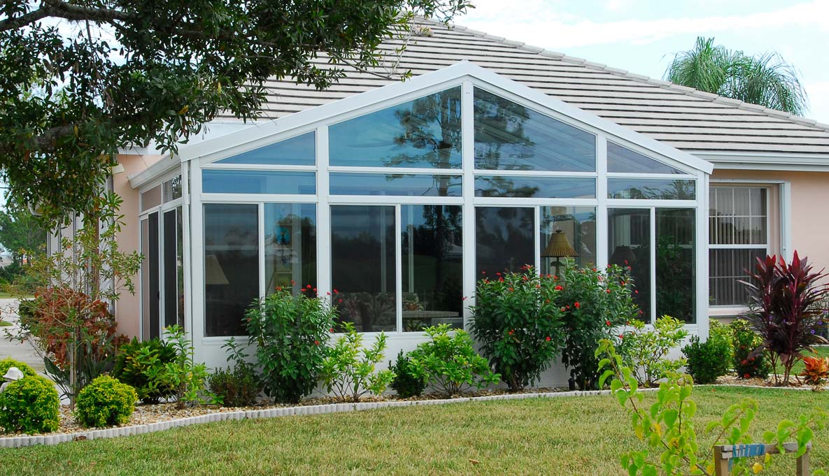 Cathedral Solid Roof Sunroom