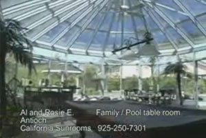 Family and Pool Table Conservatory Room in Antioch, CA