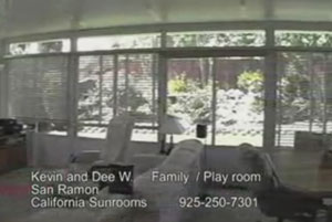 Sunroom Addition in San Ramon, CA